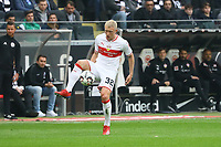 Andreas Beck (VfB Stuttgart) - 31.03.2019: Eintracht Frankfurt vs. VfB Stuttgart, Commerzbank Arena, DISCLAIMER: DFL regulations prohibit any use of photographs as image sequences and/or quasi-video.