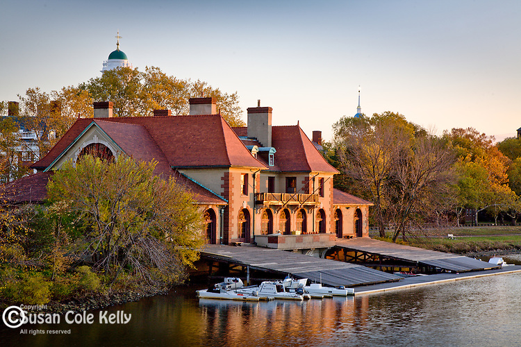 Weld Boat House of Harvard University, Cambridge, Greater Boston, MA, USA