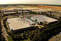 Aerial photo at Charlotte Douglas International Airport, taken October 2008.