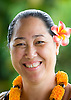 Candace Kashiwabara, a employee at The Kapaia Stitchery on the island of Kauai, Hawaii. Photo by Kevin J. Miyazaki/Redux