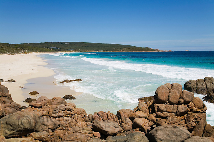 Smith's Beach at Yallingup in the Leeuwin-Naturaliste National Park, Western Australia, AUSTRALIA.