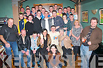 CJ Doyle,Tursillough,Tralee(seated centre)had great craic celebrating his 18th birthday last friday night in Dowdies bar,Boherbue,Tralee with many friends and family..