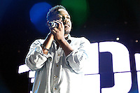 Kendrick Lamar performs at Sussquehanna Bank Center in Camden, New Jersey on August 3, 2012  © Star Shooter / MediaPunchInc