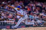 28 April 2017: New York Mets pitcher Jeurys Familia on the mound in the 9th inning against the Washington Nationals at Nationals Park in Washington, DC. The Mets defeated the Nationals 7-5 to take the first game of their 3-game weekend series. Mandatory Credit: Ed Wolfstein Photo *** RAW (NEF) Image File Available ***
