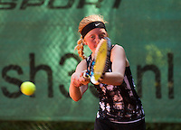 Netherlands, Dordrecht, August 03, 2015, Tennis,  National Junior Championships, NJK, TV Dash 35, Madelief van Heese<br /> Photo: Tennisimages/Henk Koster