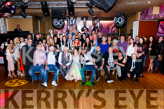 Miriam Moriarty Owens, Tralee celebrates her 60th Birthday with familyy and friends at the Grand Hotel on Saturday