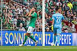 01.09.2019, wohninvest WESERSTADION, Bremen, GER, 1.FBL, Werder Bremen vs FC Augsburg<br /> <br /> DFL REGULATIONS PROHIBIT ANY USE OF PHOTOGRAPHS AS IMAGE SEQUENCES AND/OR QUASI-VIDEO.<br /> <br /> im Bild / picture shows<br /> Niclas Füllkrug / Fuellkrug (Werder Bremen #11) ärgert sich über vergebene Torchance, <br /> <br /> Foto © nordphoto / Ewert