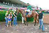 Fasque winning at Delaware Park on 7/27/15