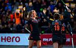 UTRECHT - Caia Van Maasakker (Ned) heeft gescoord   tijdens   de Pro League hockeywedstrijd wedstrijd , Nederland-China (6-0) .COPYRIGHT  KOEN SUYK