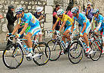 101 Tour de France 2014 - <br /> Vincenzo Nibali competes during stage fifteenth of the cycling road race 'Tour de France' at Sisteron, on July 20, 2014.