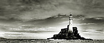 """Name: Fastnet <br /> Latitude: 51°23.358' North <br /> Longitude: 009°36.178' West <br /> <br /> Called in Irish """"Carraig Aonair"""", meaning solitary rock / lone rock - Probably one of the most famous Lighthouses in the World -"""