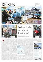 DIE ZEIT (German weekly) on the European Capital of Culture, Riga, Latvia, 2014.01.30. Photographer: Reinis Hofmanis