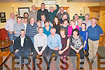 LAST CALL: Dan Galvin, Ballybeggan, Tralee (seated centre) who has retired from Eircom after 38 years enjoying his retirement party in Stokers Lodge last Friday night with family, friends and colleagues.