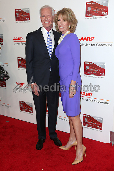"06 February 2017 - Beverly Hills, California - Chesley Burnett ""Sully"" Sullenberger, Lorrie Sullenberger. AARP 16th Annual Movies For Grownups Awards held at the Beverly Wilshire Four Seasons Hotel. Photo Credit: F. Sadou/AdMedia"