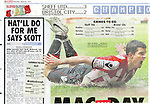 The Sun - Sport.Sheffield United v Bristol City.Page 16 Goals.25th April 2011
