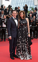 Kyle MacLachlan, Desiree Gruber at the premiere for 'Twin Peaks' at the 70th Festival de Cannes. <br /> May 25, 2017 Cannes, France<br /> Picture: Kristina Afanasyeva / Featureflash