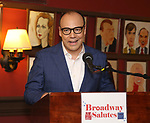 Danny Burstein attends Broadway Salutes 10 Years - 2009-2018 at Sardi's on November 13, 2018 in New York City.