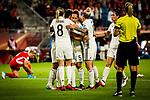 25.07.2017, Stadion Galgenwaard, Utrecht, NLD, Tilburg, UEFA Women's Euro 2017, Russland (RUS) vs Deutschland (GER), <br /> <br /> im Bild | picture shows<br /> DFB Frauen jubeln ueber Tor zum 2:0 durch Dzsenifer Marozsan (Deutschland #10) | (Germany #10), <br /> <br /> Foto © nordphoto / Rauch