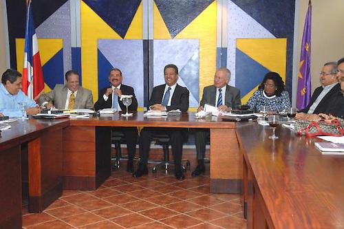 Reunión Comité Político del PLD