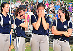 (Lowell MA 06/14/15) Tears from the Medford players after losing the MIAA Division 1 State Final game, Sunday, June 14, 2015, at Martin Park in Lowell. Herald Photo by Jim Michaud