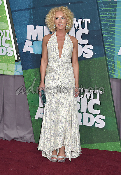 10 June 2015 - Nashville, Tennessee - Kimberly Schlapman, Little Big Town. 2015 CMT Music Awards held at Bridgestone Arena. Photo Credit: Laura Farr/AdMedia