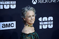 """LOS ANGELES - OCT 22:  Melissa McBride at the """"The Walking Dead"""" 100th Episode Celebration at the Greek Theater on October 22, 2017 in Los Angeles, CA"""