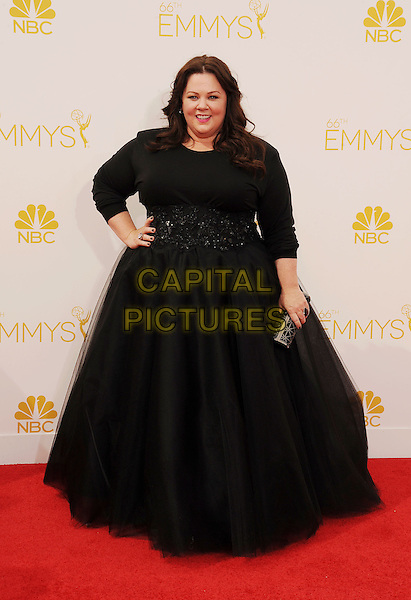 LOS ANGELES, CA- AUGUST 25: Actress Melissa McCarthy arrives at the 66th Annual Primetime Emmy Awards at Nokia Theatre L.A. Live on August 25, 2014 in Los Angeles, California.<br /> CAP/ROT/TM<br /> &copy;Tony Michaels/Roth Stock/Capital Pictures