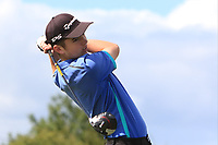 Ryan Gibson (Malahide) on the 14th tee during the Final round in the Connacht U16 Boys Open 2018 at the Gort Golf Club, Gort, Galway, Ireland on Wednesday 8th August 2018.<br /> Picture: Thos Caffrey / Golffile