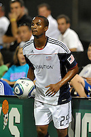 Khano Smith...Kansas City Wizards defeated New England Revolution 4-1 at Community America Ballpark, Kansas City, Kansas.