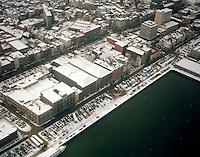 Februari 1999. Felix pakhuis aan het Willemdok in Antwerpen.