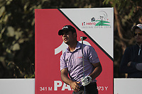 Shubhankar Sharma (IND) in action on the 13th during Round 1 of the Hero Indian Open at the DLF Golf and Country Club on Thursday 8th March 2018.<br /> Picture:  Thos Caffrey / www.golffile.ie<br /> <br /> All photo usage must carry mandatory copyright credit (&copy; Golffile | Thos Caffrey)