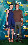 UNIVERSAL CITY, CA. - August 09: Actors Alexis Bledel and Zach Gilford pose in the press room during the Teen Choice Awards 2009 held at the Gibson Amphitheatre on August 9, 2009 in Universal City, California.