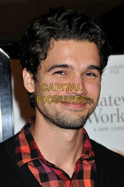 "STEVEN STRAIT .""Whatever Works"" Los Angeles Premiere held at the Pacific Design Center, West Hollywood, CA, USA..June 8th, 2009.headshot portrait black red check stubble facial hair  .CAP/ADM/BP.©Byron Purvis/AdMedia/Capital Pictures."