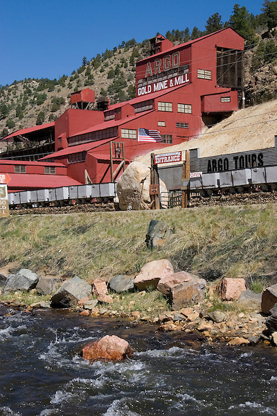 Argo Gold Mine, Idaho Springs, Colorado, USA John offers private photo tours of Denver, Boulder and Rocky Mountain National Park. .  John offers private photo tours in Denver, Boulder and throughout Colorado. Year-round.