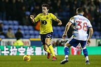 Blackburn Rovers' Lewis Travis  competing with Reading's Liam Kelly  <br /> <br /> Photographer Andrew Kearns/CameraSport<br /> <br /> The EFL Sky Bet Championship - Reading v Blackburn Rovers - Wednesday 13th February 2019 - Madejski Stadium - Reading<br /> <br /> World Copyright © 2019 CameraSport. All rights reserved. 43 Linden Ave. Countesthorpe. Leicester. England. LE8 5PG - Tel: +44 (0) 116 277 4147 - admin@camerasport.com - www.camerasport.com