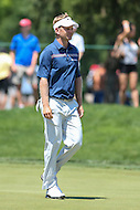 Bethesda, MD - June 25, 2016:  Billy Hurley III (USA) walks to his putt attempt during Round 3 of professional play at the Quicken Loans National Tournament at the Congressional Country Club in Bethesda, MD, June 25, 2016.  (Photo by Elliott Brown/Media Images International)
