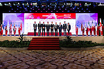(from second from left to right) Michael Wood, Iain Roberts, Zhang Xiao Ning, T.K. Pen, Xu JIain Ping, JIaing Da Wei, and other authorities at the Opening Ceremony during World Ladies Championship 2016 on 09 March 2016 at Mission Hills Olazabal Golf Course in Dongguan, China. Photo by Victor Fraile / Power Sport Images