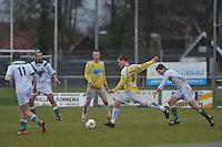 VOETBAL: WARGA: 22-12-2013, VV Warga - VV Geel Wit, uitslag 2-4, (#8 | Geel Wit), ©foto Martin de Jong