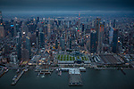USA, New York, Manhattan, aerial