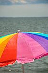 Hammonasset Beach State Park, CT. Beach umbrella.