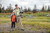 USA, Alaska, Homer, China Poot Bay, Kachemak Bay, exploring around the Kachemak Bay Wilderness Lodge