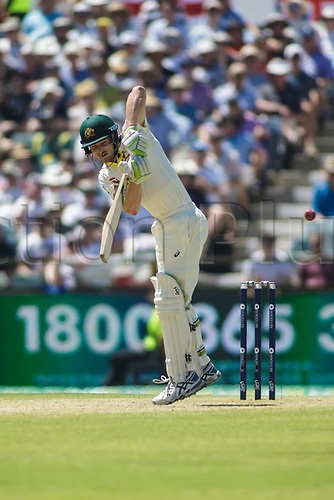 15th December 2017, The WACA, Perth, Australia; The Ashes Series, third test, day 2,  Australia versus England; Australia player Cameron Bancroft plays a shot