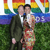 09 June 2019 - New York, NY - Jesse Tyler Ferguson and Justin Mikita. 73rd Annual Tony Awards 2019 held at Radio City Music Hall in Rockefeller Center. Photo Credit: LJ Fotos/AdMedia