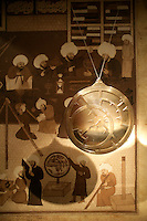 Replica of a 13th century astrolabe made in Damascus at the Museum of the History of Islamic Science and Technology, Istanbul, Turkey