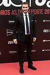 Juanma Caetano attends to photocall of 50th anniversary sport newspaper As in Madrid, Spain. December 04, 2017. (ALTERPHOTOS/Borja B.Hojas)
