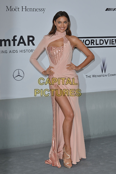 CAP D'ANTIBES, FRANCE - MAY 22:  Irina Shayk attends amfAR's 21st Cinema Against AIDS Gala at Hotel du Cap-Eden-Roc on May 22, 2014 in Cap d'Antibes, France. <br /> CAP/PL<br /> &copy;Phil Loftus/Capital Pictures