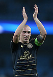 Scott Brown of Celtic during the Champions League Group C match at the Etihad Stadium, Manchester. Picture date: December 6th, 2016. Pic Simon Bellis/Sportimage