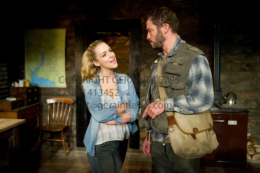 The River by Jez Butterworth directed by Ian Rickson. With Dominic West and  Miranda Raison. Opens at The Jerwood Theatre Upstairs at The Royal Court Theatre on 26/10/12. CREDIT Geraint Lewis