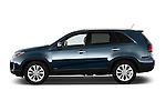Passenger side profile view of a 2014 KIA Sorento EX2014 KIA Sorento EX