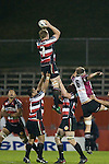 James Maher takes lineout ball. Air New Zealand Cup rugby game between Counties Manukau Steelers & North Harbour, played at Mt Smart Stadium on August 10th, 2007. The game ended in a 13 all draw.